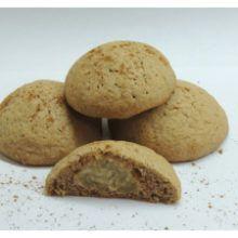 Škoricové keksíky s jablkovou plnkou