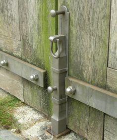 Gate droprod, custom forged