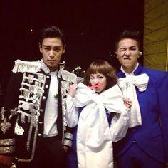 Doom Dada Family!!!! T.O.P (Bigbang) Dara (2NE1) Mino (WINNER)