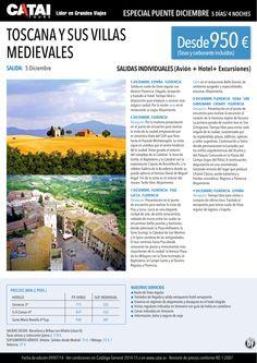 Pte dic: TOSCANA y sus Villas Medievales, sal individuales 5 dic, 5d/4n desde 950€ ultimo minuto - http://zocotours.com/pte-dic-toscana-y-sus-villas-medievales-sal-individuales-5-dic-5d4n-desde-950e-ultimo-minuto/