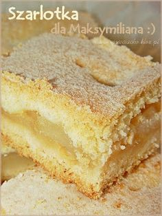 mojeciacho.print: Szarlotka dla Maksymiliana :) Polish Desserts, Cookie Desserts, Cookie Recipes, Dessert Recipes, Apple Recipes, Sweet Recipes, Baking Recipes, Kolaci I Torte, Gateaux Cake