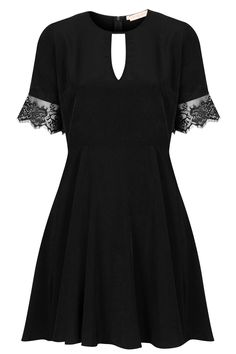 Lace trim dress from Topshop UK