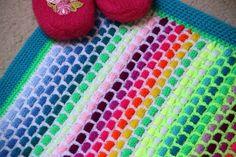 Strickliesel-Teppich