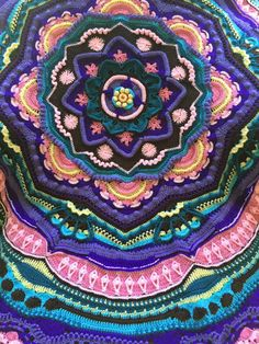 Mandala Madness CAL 2016 - This one Crocheted by R. Willms - Free Pattern on Ravelry.