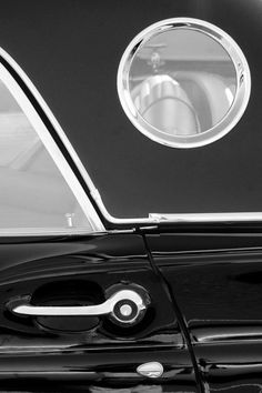 1957 Ford Thunderbird Window