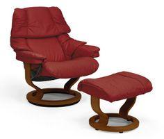 Stressless sessel jazz  Ekornes Stressless Chair & Ottoman. I bought two of these (similar ...