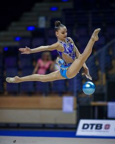 Dina Averina (Russia) won gold in ball finals at World Cup (Berlin) 'Berlin Masters' 2016