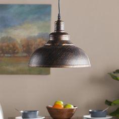 Cahill Bell Pendant Lamp, Black