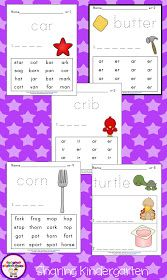 Sharing Kindergarten: Bossy R Freebie and Some App Ideas