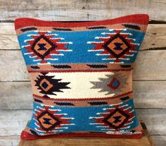 Navajo Weaving Pillow Great Colors And Design In 2019