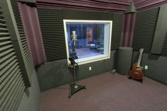 recording booth pictures | Auralex Amps Up Allusion Studios | BriefingRoom on MixOnline