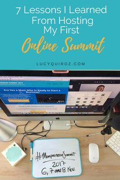 Lessons I learned from hosting an online summit: Mumpreneur Summit