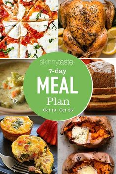 A free 7-day, flexible weight loss meal plan including breakfast, lunch and dinner and a shopping list. All recipes include calories and updated WW Smart Points. Weight Loss Meal Plan, Weight Watchers Meals, Keto, Skinny Recipes, Healthy Recipes, Healthy Foods, Healthy Meal Prep, Healthy Eating, 7 Day Meal Plan