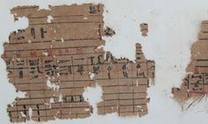 Egypt's King Khufu's harbour in Suez discovered - Oldest papyrus in Egypt- Ancient Egypt - Heritage - Ahram Online