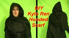 DIY Kylo Ren Costume: Hooded Scarf - Star Wars, The Force Awakens