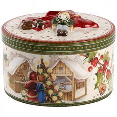 Christmas Toys Paquet cadeau moye. rond marché de Noël 13cm - Villeroy & Boch #christmas #Xmas #Noël
