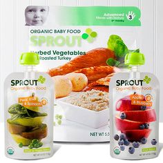 Take a look at the Sprout Foods event on zulily today!