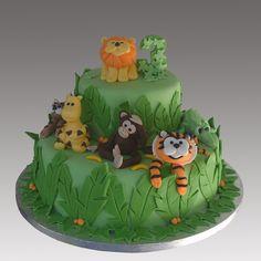 wild animal cake pictures' | Jungle Wild Animals Cake | Flickr - Photo Sharing!