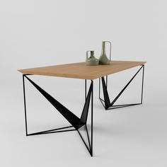 Origami Dining Table – New – Table Types Coffee Table To Dining Table, Dining Table Design, Coffee Table Design, Console Table, Coffee Tables, Steel Furniture, Table Furniture, Furniture Design, Modern Industrial Furniture
