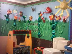 Garden Cenre Display, classroom display, class display, garden, area, flowers, role play, gardening, plant, Early Years (EYFS), KS1& KS2 Primary Resources