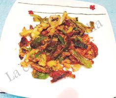 #Frituradeverdura. Llegó el momento de cenar… http://lasrecetasdejuanito.blogspot.com/2015/09/fritura-de-verdura.html