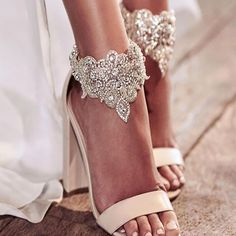 #annacampbell bridal shoes