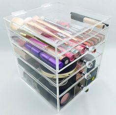 Luminati Acrylic Vanity Organizer