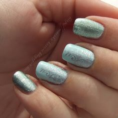 #nailart #iceprincess #ice #winter #iceblue