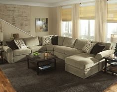 The sectional I want but in dark brown. Hope to get it soon!