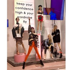 d11e3a66f66b7 Fashion Displays, Clothing Displays, Missguided Store, Shop Window  Displays, Store Displays, Visual Merchandising Fashion, Mannequin Display,  Sales People, ...