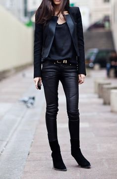 LEATHER                                                                                              (PHOTOS BY PINTEREST)