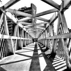 Swirl, by Serge Najjar Serge Najjar, City Lights, Railroad Tracks, Monochrome, Art Photography, Photos, Pictures, Architectural Photography, Urban