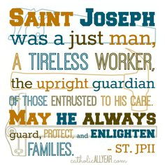 Solemnities are NOT for Being Solemn: What They Are, Why They Matter, and New Free Printables for the Solemnity of St. Joseph - Catholic All Year Catholic Feast Days, Catholic All Year, Catholic Bible Verses, Catholic Quotes, Catholic Religion, Catholic Saints, Catholic Art, Religious Art, St Joseph Feast Day