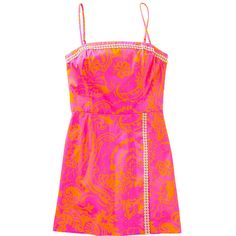FINAL SALE Jesse Skort Romper (970 CNY) ❤ liked on Polyvore featuring jumpsuits, rompers, dresses, tops, lilly pulitzer, playsuit romper, pink romper, pink rompers and golf skirt
