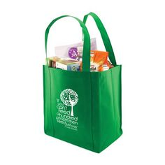 Practical grocery tote helps get your message out while helping the environment! Multipurpose, reusable 100 GSM polypropylene tote with reinforced handles. Promotional Giveaways, Messages, Recycling, Busy Bags, Reusable Bags, Santiago, Fabric Purses, Tejidos, Text Posts