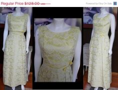 20 OFF STOREWIDE Vintage 1950s PROM Dress by WestCoastVintageRSL, $102.40