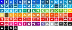 Free Download: Simple Icons –100+ Brand Icons & Colour Style Guides (PNG & CSS) - Creativefeed