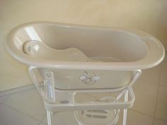 baby changing bath tub with lock wheels stand assorted patterns and colors are available she. Black Bedroom Furniture Sets. Home Design Ideas
