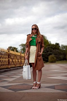 Street Style Burberry London Trench Coat for Women 3b4edb61863e4