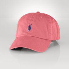 Cotton Chino Baseball Cap - Polo Ralph Lauren Hats - RalphLauren.com bbb25cc2fbb