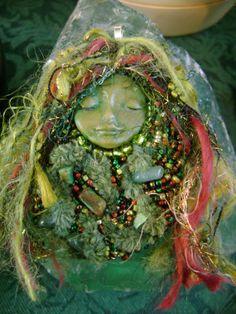 Season of Serinity Spirit / Soul Doll Goddess by onceuponamoon, $65.00