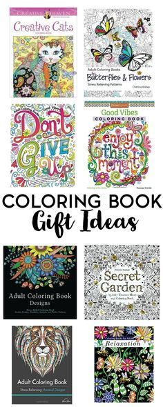 Coloring books are no longer just for kids. Gift yourself or someone else in your life with one of these coloring book gift ideas. Don't forget the pencils!