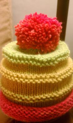 Knit...Purl...Wait, What?...Damn!: Round and Round Baby Hat Pattern
