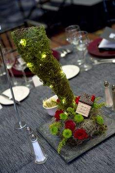 Wizard of oz decor centerpiece tornado