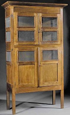 Antique Pie Safe Prices   antiques price guide, antiques priceguide, kitchen & household ...