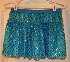 DIY: Sparkle Running Skirt