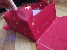 Авоська рукоделок: Коробка,обтянутая тканью.Мастер класс.