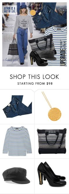 """""""Parisian classics reinvented for Spring/Summer 2018, according to trends and designer picks."""" by elena-777s ❤ liked on Polyvore featuring 3.1 Phillip Lim, Alighieri, A.P.C., TOMS, Isabel Marant, Chanel, mariniere and winter2018"""