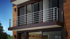 Look at modern balcony railing design ideas with photos. The Architecture Designs have modern balcony railing design ideas with photos that you should check now! Home Grill Design, Steel Grill Design, Steel Railing Design, Balcony Grill Design, Window Grill Design, Terrace Design, Balcony Glass Design, Fence Design, Veranda Railing