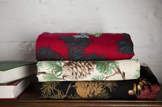 Pinecone fabric whispering pines